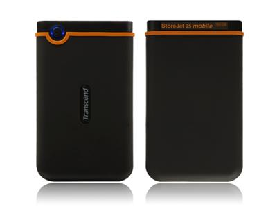 "Transcend StoreJet 25 Mobile 160GB USB 2.0 2.5"" External HDD"